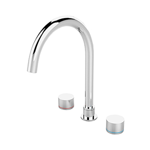 Kara Kitchen Sink Tap Set